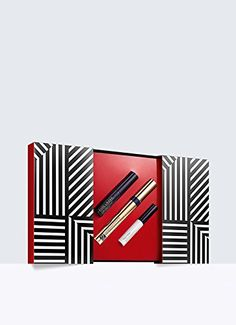 Estee Lauder Go To Extremes Sumptuous Extreme Mascara Set. What it is: A fabulous trio of products for creating long lashes and beautiful brows. Set includes: - Full-size Sumptuous Extreme Lash Multiplying Volume Mascara - Deluxe travel-size Brow Now Stay-In-Place Brow Gel - Deluxe travel-size Little Black Primer.