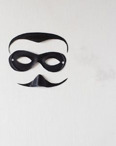 how to make a robber mask