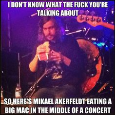 Mikael is a bad-ass #opeth