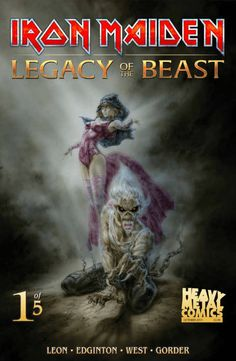Heavy Metal's Luis Royo Covers 'Iron Maiden: Legacy Of The Beast#1'