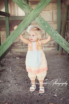 Pants Shorts Capris Bloomers children's clothing sewing PDF tutorial Pattern by Tenderfeet Stitches. $4.49, via Etsy.