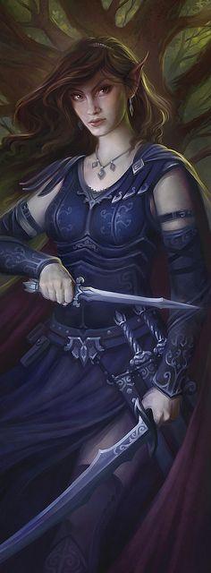 elven assassin/rogue