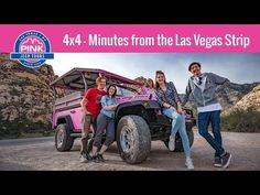 Las Vegas Tours, Guided Sightseeing Activities | Pink Jeep Tours