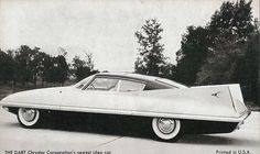 1955 Chrysler Dart Concept Car