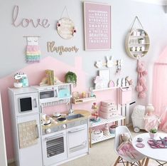 49 Splendid Diy Playroom Kids Decorating Ideas is part of Toddler playroom Having a kids playroom has many benefits To begin with, you& have a charming and pleasant environment where your little - Playroom Design, Playroom Decor, Playroom Color Scheme, Girls Room Design, Kids Decor, Wall Decor, Toddler Playroom, Kids Playroom Ideas Toddlers, Deco Kids