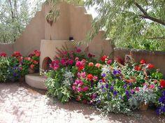 southwest garden color