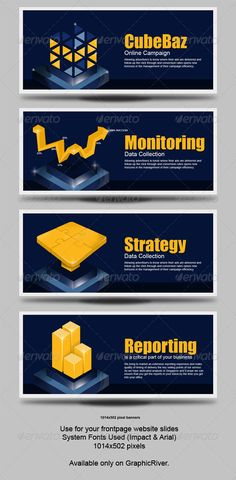 Web sliders for you website for marketing