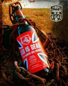 La red is dead des brasseurs anticonformistes de sainte Cru, Au consulat de la bière. Beverages, Drinks, Coke, Coca Cola, Canning, Craft Beer Glasses, Beer, Drinking, Drink