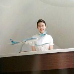 KOREAN AIR Flight Attendant/ Cabin Crew of ✩INSTAGRAM✩ #항공과 #대한항공승무원 #비행기✈️ 이쁜 승무원이 되도록 노력하기!!!