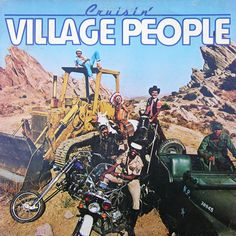 Cruisin'. Released the 25th of September in 1978. #VillagePeople http://www.roeht.com/cruisin/ #vinyl #vinylrecords #onlyvinyl #LP #AlbumCovers