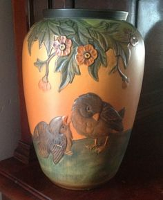 Denmark Ipsen Art Pottery IV by TresconyAntiques on Etsy, $427.00