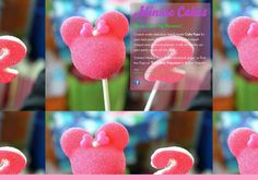 Contact me for your special event! Minnie Cake, Event Themes, Cake Pops, Yummy Treats, Special Events, Candy, Handmade, Hand Made, Cakepops