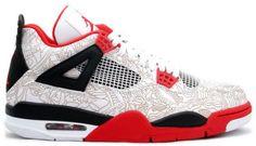 """Air Jordan 4 """"Fire Red Laser"""""""