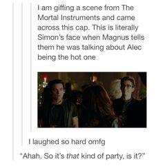 Haha I love Simon