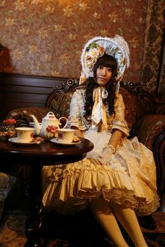 L'art Romantique 秋日下午茶会(下)の画像 | hiyomi的lolita日记