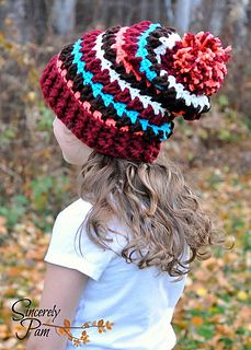 Cutest, warmest hat! It's so cold out - make one now!!!! #crochet #hat #kids