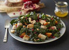 Foster Farms Recipe: California Kale Salad with Diced Chicken