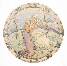 """Jessie M. King (1875 – 1949), """"Richard Coeur de Lion"""" by sofi01, via Flickr"""