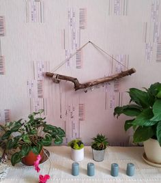 Wood jewelry organizer, wall hanging jewelry display, nature decor, boho bedroom decor, gift for daughter Driftwood Jewelry, Driftwood Art, Wooden Jewelry, Boho Jewelry, Jewelry Wall, Jewelery, Jewelry Crafts, Vintage Jewelry, Jewelry Organizer Wall