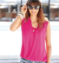 mark Berry Breezy Blouse - With its flattering draping and gorgeous color, it pairs with everything from casual shorts to a long, flowy maxi skirt. Polyester/spandex. Imported. Regularly $32.00, buy Avon mark products online at http://eseagren.avonrepresentative.com