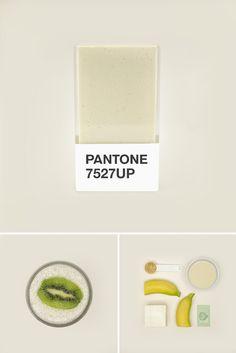 Aprenda deliciosas e coloridas receitas com Pantone Smoothies