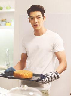 Kim Woo Bin for Samsung Asian Actors, Korean Actresses, Korean Actors, Kim Woo Bin, Korean Men, Asian Men, Asian Guys, Won Bin, Cha Eun Woo