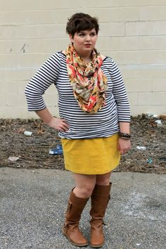 Hems for Her Trendy Plus Size Fashion for Women. Love her!