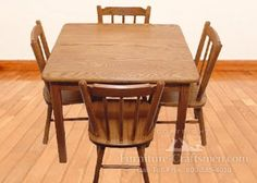 Edwards Pass Table & Chair Set