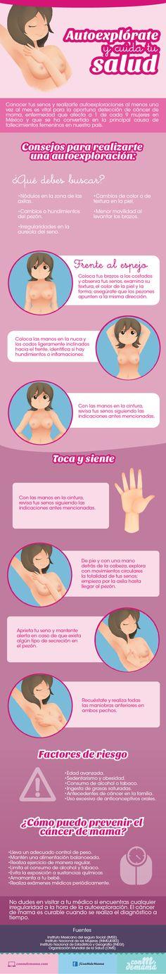 Cáncer de mama: autoexplórate y cuida tu salud   Con M de Mamá
