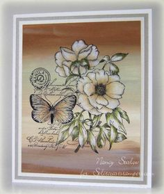 *** Nancy's Favorite - CT1114 - Botanical Notes*** by stiz2003 - Cards and Paper Crafts at Splitcoaststampers