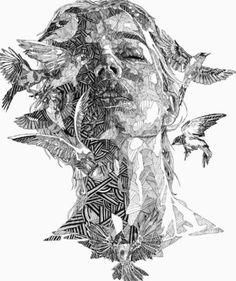 Please visit our website for Art And Illustration, Illustrations, Stippling Art, Ap Art, Art Graphique, Art Drawings Sketches, Art Plastique, Art Sketchbook, Portrait Art