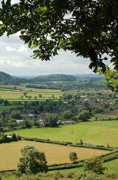 The beautiful county of Somerset, UK