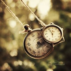 time is finite~ no matter how many time pieces you have