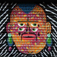 Artist kashink - street art paris 20 - bd davout juin 2015