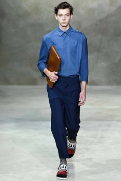 Marni Spring 2016 Menswear Fashion Show Collection