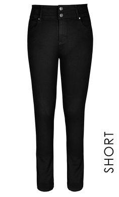 City Chic - HOURGLASS SKINNY JEAN SHORT - Women's Plus Size Fashion