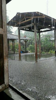 Hard rain love...