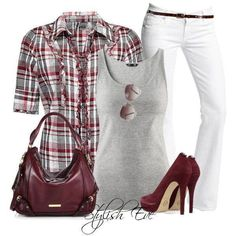 This would be a cute spring outfit