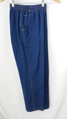 Denim Pants 10 petite Koret City Blues Elastic Waist #KoretCityBlues #CasualPants