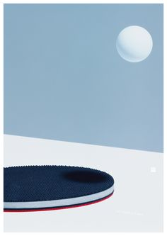 """Uenishi Yuri (Japan) World Table Tennis Championships posters, 2015 h/t [[MORE]]""""… a series of poster advertisements for Ping Pong that we came across recently,perfectly captures the minimal. Poster Design, Graphic Design Posters, Design Art, Design Styles, Japanese Design, Japanese Art, Glitch, Posters Conception Graphique, Composition Design"""