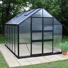 Eden Blockley Greenhouse - Hobby Greenhouse Kits