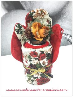 Christmas towel cake - composizione natalizia - come d'incanto - carlinifd