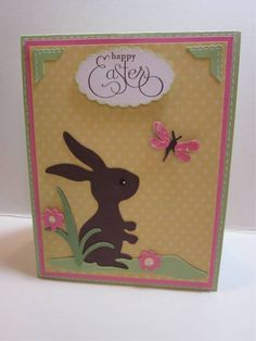 Here is the card I made for the Cricut Cardz challenge and Paper Cutz challenge. This challenge was to create an Easter themed project. Just...