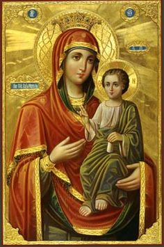 Madonna And Child Art by Christian Art Religious Images, Religious Icons, Religious Art, Blessed Mother Mary, Blessed Virgin Mary, True Bride, Images Of Mary, Mama Mary, Madonna And Child