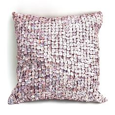 DEBAGE 20-in W x 20-in L Plum Square Indoor Decorative Pillow