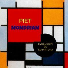 Cuadros de Piet Mondrian Para Niños Piet Mondrian, Videos, Murcia, Inspiration, Tapas, Inspired, Kid Art, Pintura, Artworks