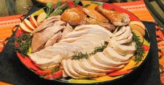 Roasted Turkey – Breast Down