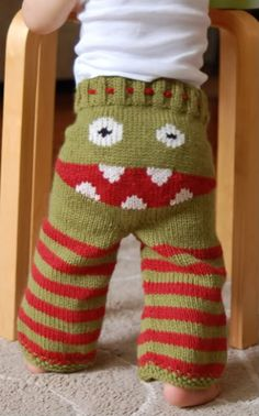 Oh my.  We MUST have some of these. I don't know how to knit!