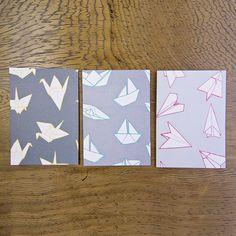 Origami cards