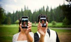 Hace un par de meses, Laura y Guillermo repartieron en su boda postales con instrucciones para sus invitados para que pudieran descargarse la aplicación WedPics.